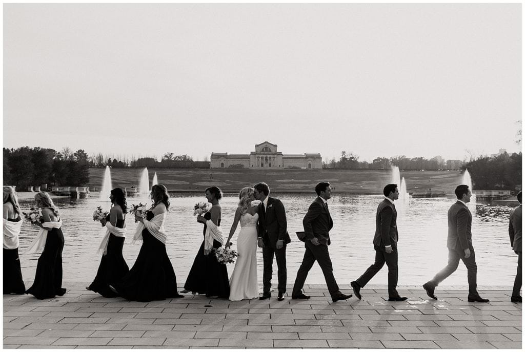 Forest Park Bridal Party Photos